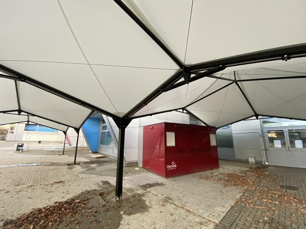 Safe Outdoor Dining Queuing Waiting Shelters Canopies